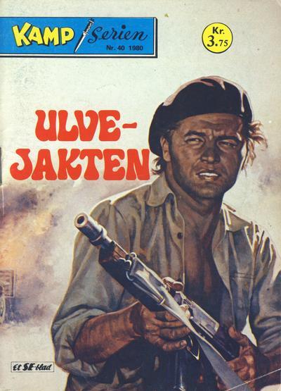 Cover for Kamp-serien (Serieforlaget / Se-Bladene / Stabenfeldt, 1964 series) #40/1980