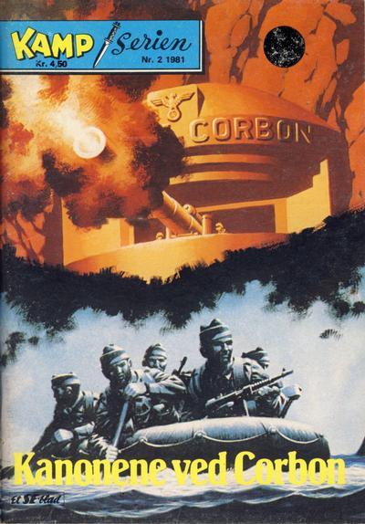 Cover for Kamp-serien (Serieforlaget / Se-Bladene / Stabenfeldt, 1964 series) #2/1981
