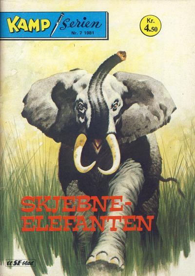 Cover for Kamp-serien (Serieforlaget / Se-Bladene / Stabenfeldt, 1964 series) #7/1981