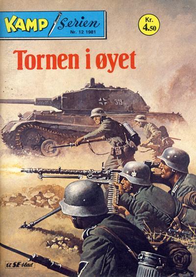 Cover for Kamp-serien (Serieforlaget / Se-Bladene / Stabenfeldt, 1964 series) #12/1981