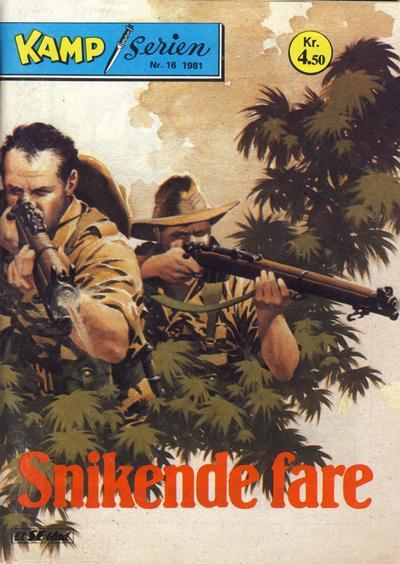 Cover for Kamp-serien (Serieforlaget / Se-Bladene / Stabenfeldt, 1964 series) #16/1981