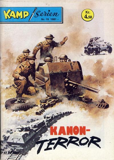 Cover for Kamp-serien (Serieforlaget / Se-Bladene / Stabenfeldt, 1964 series) #19/1981