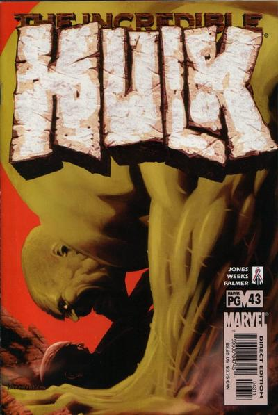 Cover for Incredible Hulk (Marvel, 2000 series) #43