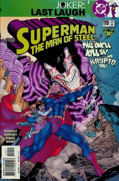 Cover for Superman: The Man of Steel (DC, 1991 series) #119