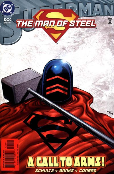 Cover for Superman: The Man of Steel (DC, 1991 series) #122