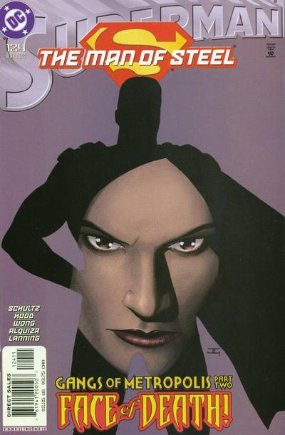 Cover for Superman: The Man of Steel (DC, 1991 series) #124