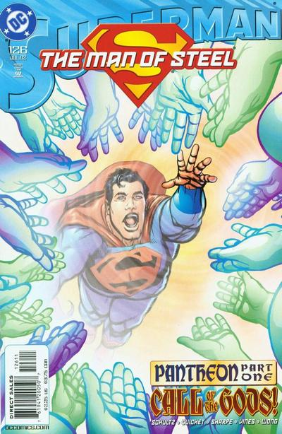 Cover for Superman: The Man of Steel (DC, 1991 series) #126
