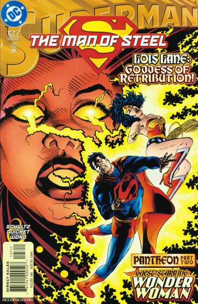 Cover for Superman: The Man of Steel (DC, 1991 series) #127