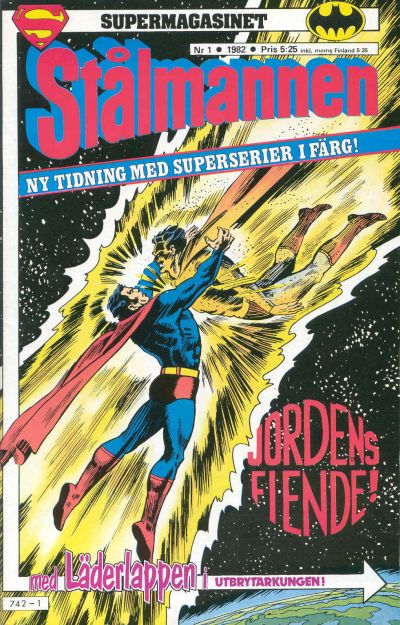 Cover for Supermagasinet (Semic, 1982 series) #1/1982
