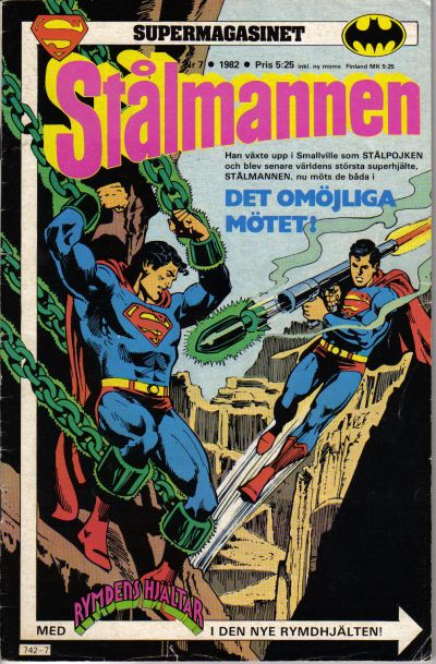 Cover for Supermagasinet (Semic, 1982 series) #7/1982