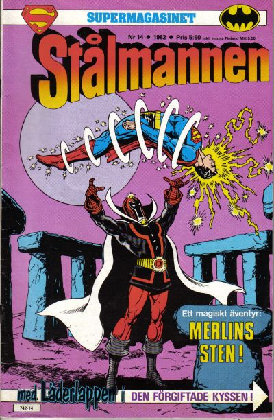 Cover for Supermagasinet (Semic, 1982 series) #14/1982