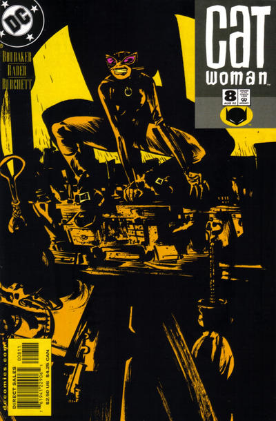 Cover for Catwoman (DC, 2002 series) #8 [Newsstand]