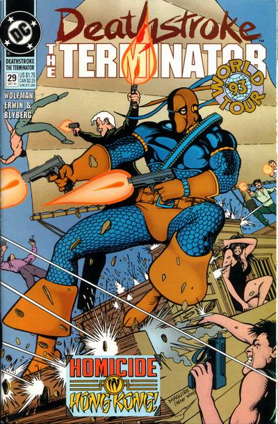 Cover for Deathstroke, the Terminator (DC, 1991 series) #29
