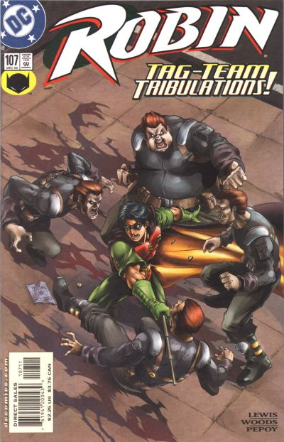 Cover for Robin (DC, 1993 series) #107