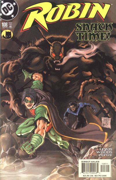 Cover for Robin (DC, 1993 series) #108