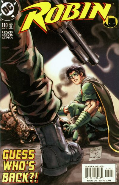 Cover for Robin (DC, 1993 series) #110