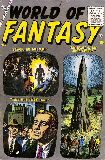 Cover for World of Fantasy (Marvel, 1956 series) #1