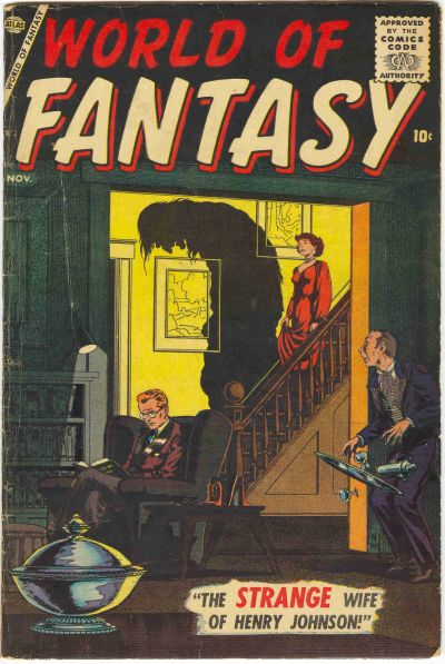 Cover for World of Fantasy (Marvel, 1956 series) #4