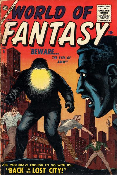 Cover for World of Fantasy (Marvel, 1956 series) #5