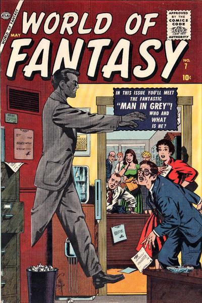 Cover for World of Fantasy (Marvel, 1956 series) #7