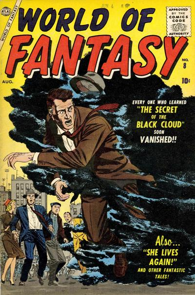 Cover for World of Fantasy (Marvel, 1956 series) #8