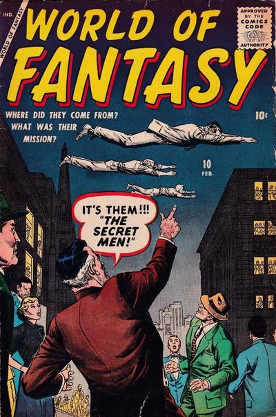 Cover for World of Fantasy (Marvel, 1956 series) #10