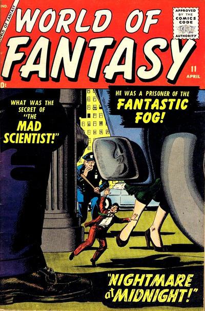 Cover for World of Fantasy (Marvel, 1956 series) #11