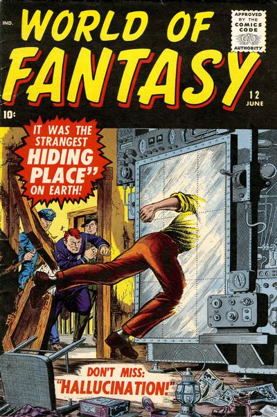 Cover for World of Fantasy (Marvel, 1956 series) #12