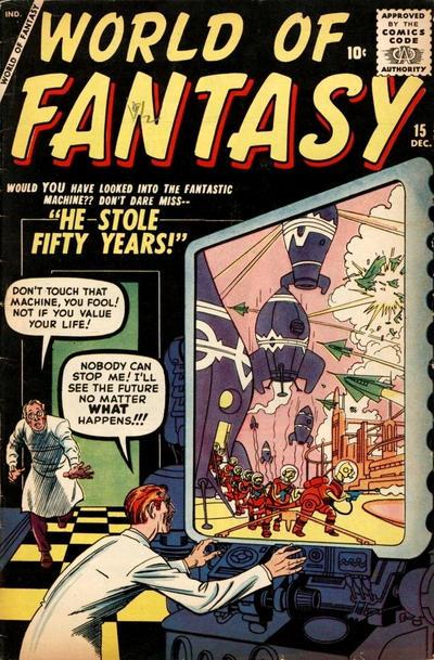 Cover for World of Fantasy (Marvel, 1956 series) #15