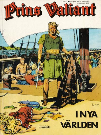 Cover for Prins Valiant (Semic, 1974 series) #12