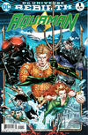 Cover for Aquaman (DC, 2016 series) #1 [Brad Walker / Drew Hennessy Cover]