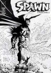 Cover for Spawn (Image, 1992 series) #185 [Black and White Variant Cover by Whilce Portacio]