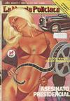 Cover for La Novela Policiaca (Novedades, 1980 ? series) #1470