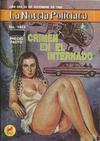 Cover for La Novela Policiaca (Novedades, 1980 ? series) #1613