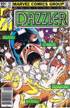Cover for Dazzler (Marvel, 1981 series) #19 [Newsstand]