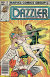 Cover Thumbnail for Dazzler (1981 series) #22 [Newsstand]