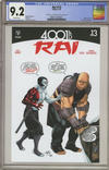 Cover for Rai (Valiant Entertainment, 2014 series) #13 [Cover C]