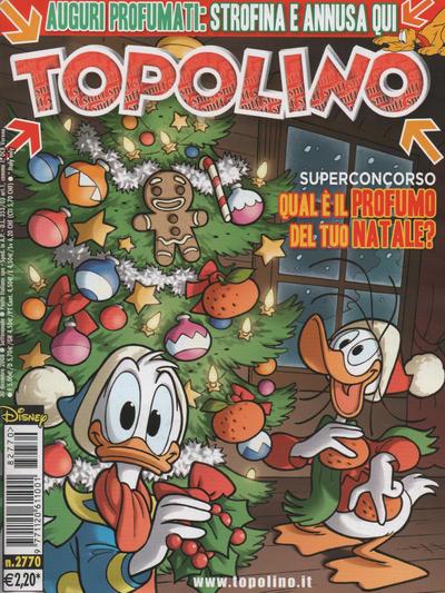 Cover for Topolino (The Walt Disney Company Italia, 1988 series) #2770