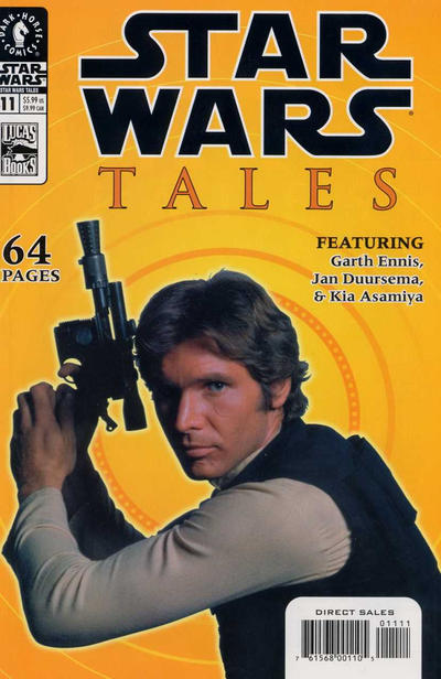 Cover for Star Wars Tales (Dark Horse, 1999 series) #11 [Cover A]