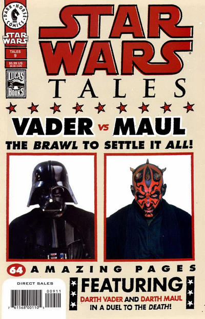 Cover for Star Wars Tales (Dark Horse, 1999 series) #9 [Cover B - Photo Cover]