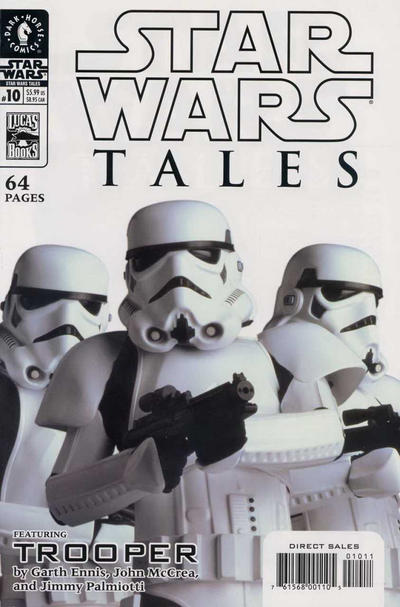 Cover for Star Wars Tales (Dark Horse, 1999 series) #10 [Cover B - Photo Cover]