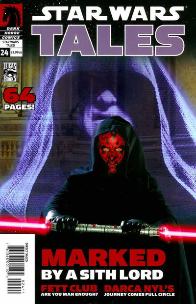 Cover for Star Wars Tales (Dark Horse, 1999 series) #24 [Cover A]
