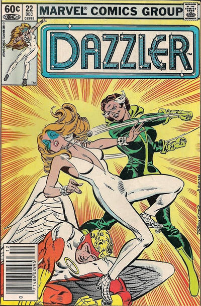 Cover for Dazzler (Marvel, 1981 series) #22 [Direct Edition]
