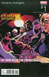 Cover Thumbnail for Uncanny Avengers (2015 series) #1 [Jason Pearson Hip-Hop Variant]