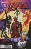 Cover for Uncanny Avengers (Marvel, 2015 series) #9