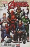 Cover for Uncanny Avengers (Marvel, 2015 series) #6
