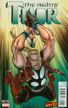 Cover for Mighty Thor (Marvel, 2016 series) #2 [Incentive Ron Frenz Marvel '92 Variant]