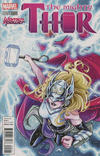 Cover for Mighty Thor (Marvel, 2016 series) #5 [Women of Power]
