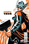 Cover for Mighty Thor (Marvel, 2016 series) #4 [Incentive Michael Cho Variant]