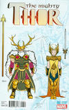 Cover Thumbnail for Mighty Thor (2016 series) #2 [Incentive Russell Dauterman Design Variant]
